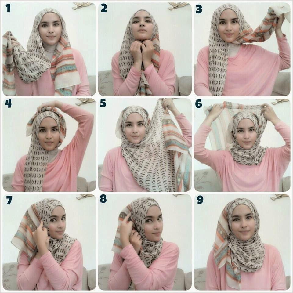 Tutorial Cara Memakai Hijab Segitiga Simple Dan Keren ModelBusana