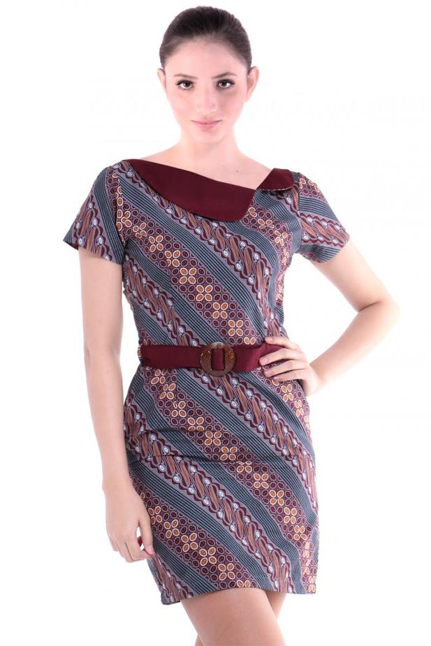 5 Model Dress Batik Casual Untuk Aktivitas Sehari Hari