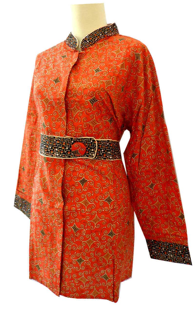 Model Baju Batik Wanita Muslim Yang Populer