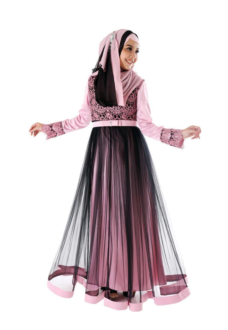 Model Baju Gamis Sifon Paling Diminati