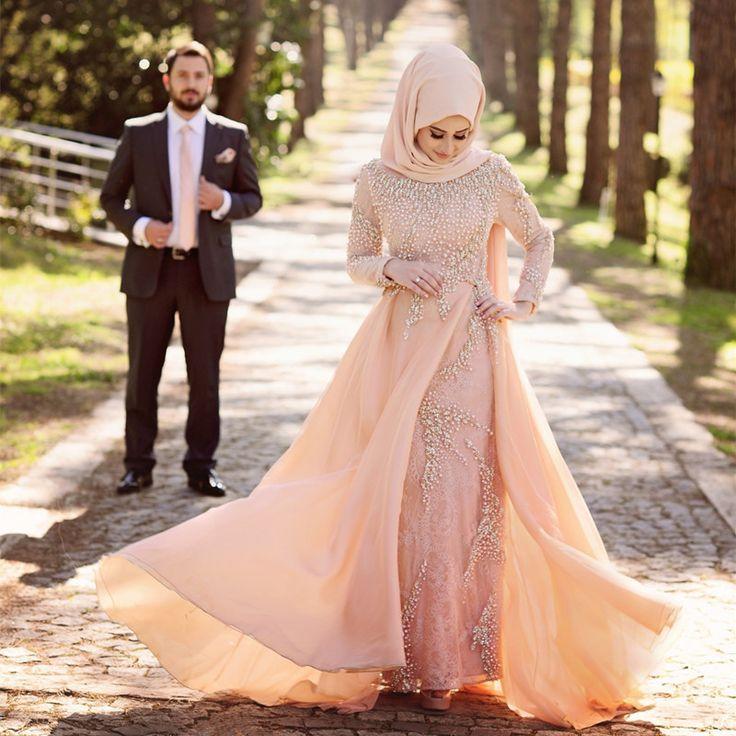 Model Gaun Pengantin Muslim Yang Mewah