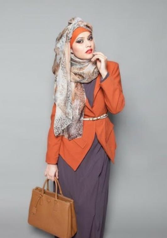 Model Baju Kerja Muslim Modern Yang Keren