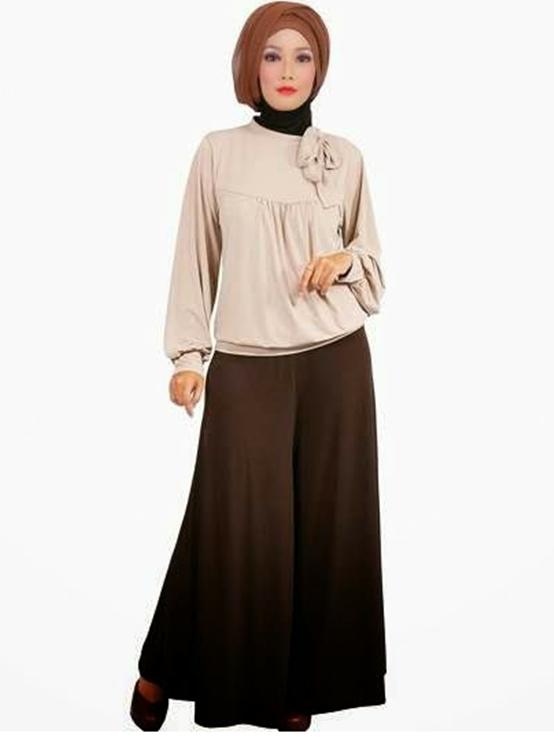 9 iModeli Baju iKerjai Kantor Muslimah Yang Trendy dan Elegan