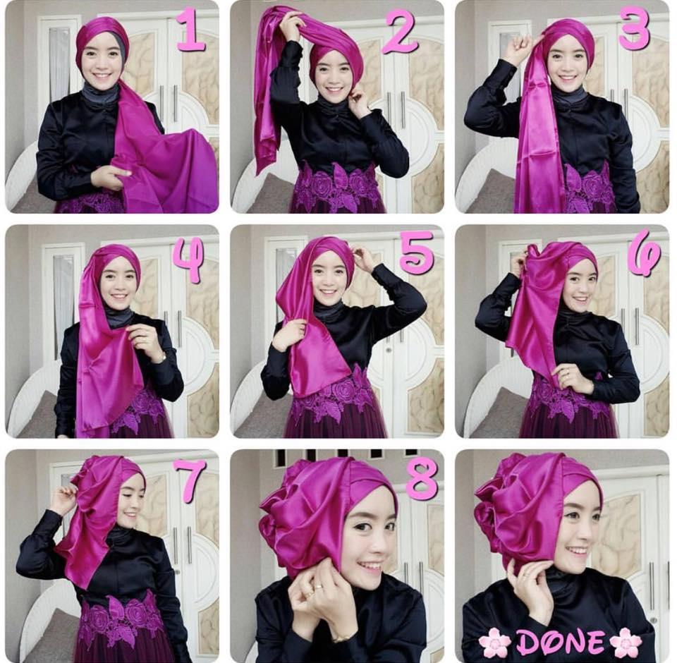 Tutorial Cara Memakai Hijab Simpel Yang Mudah Modelbusana